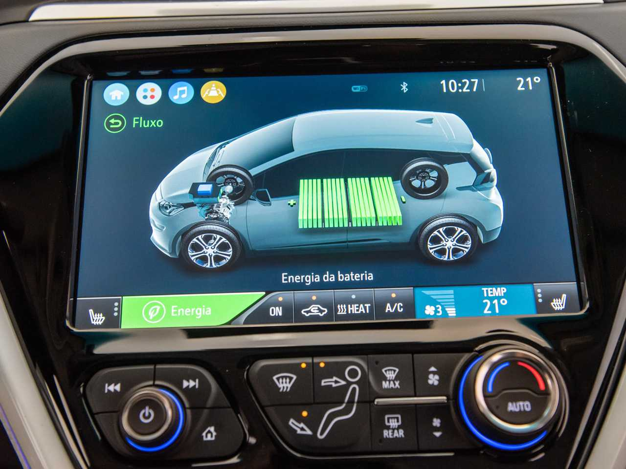 ChevroletBolt 2021 - console central
