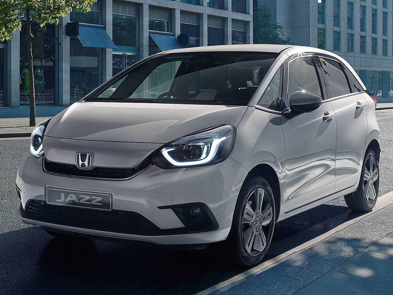 Acima a quarta geração do Honda Fit revelada no Japão