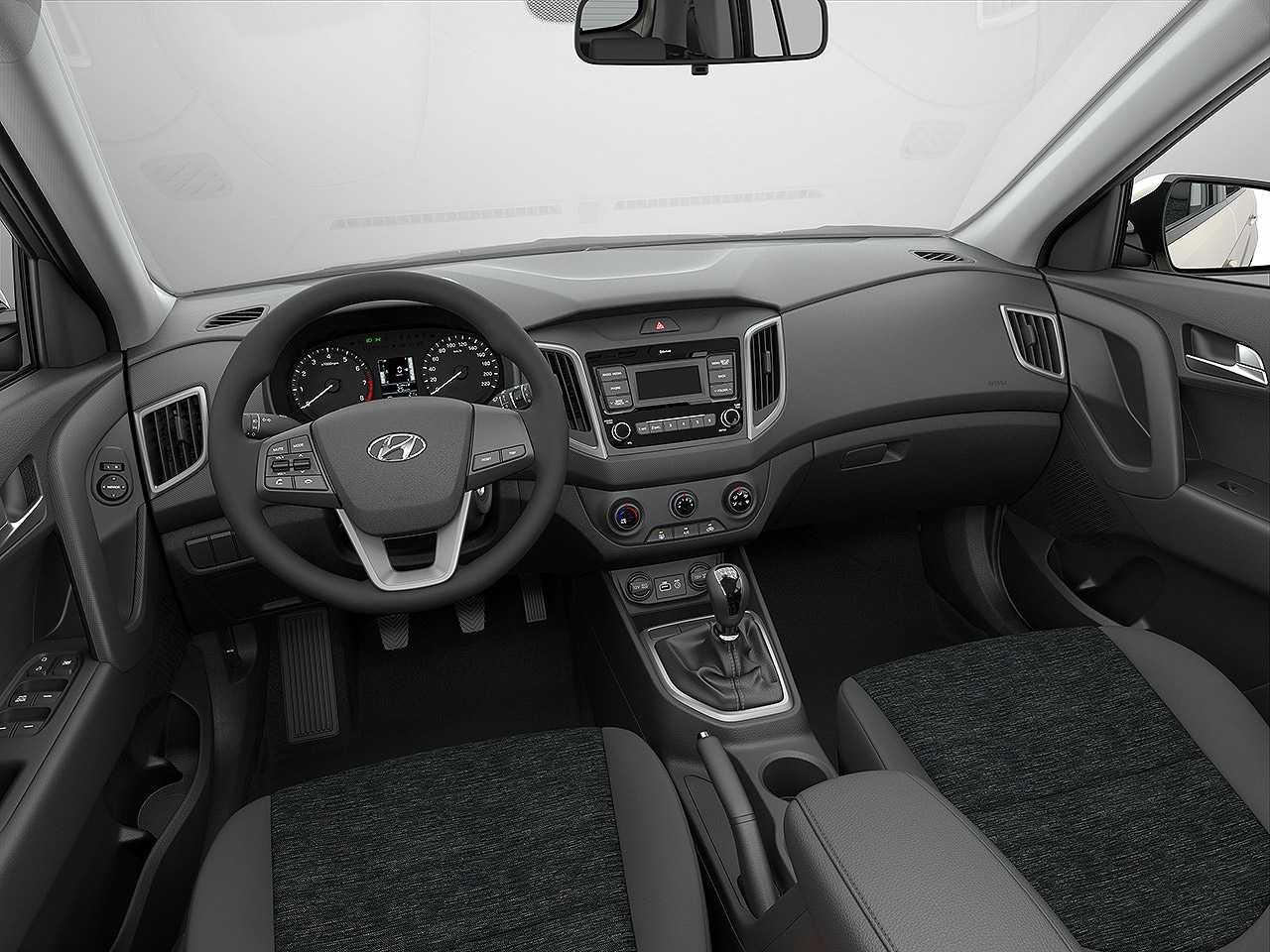 HyundaiCreta 2021 - painel