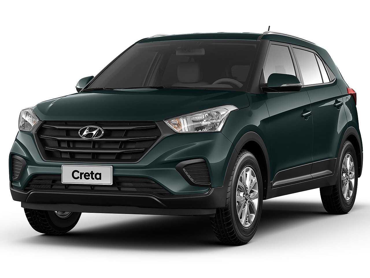 HyundaiCreta 2021 - ângulo frontal