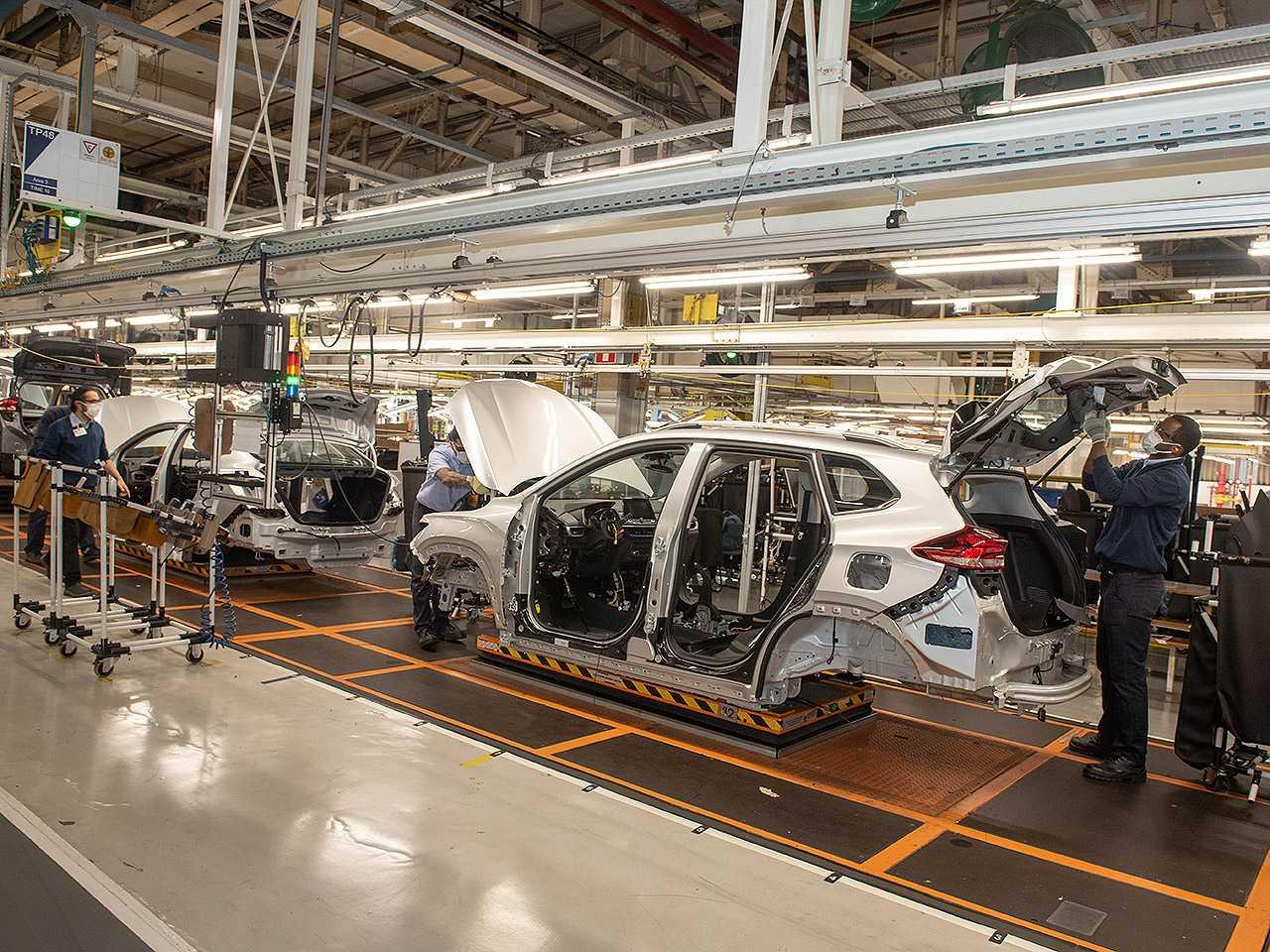 Produção do novo Chevrolet Tracker é retomada em São Caetano do Sul (SP)