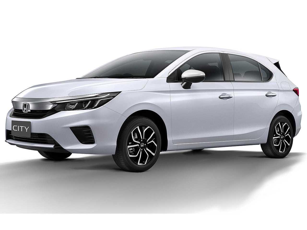Projeção de Kleber Silva para o City hatchback baseado na nova geração do sedan