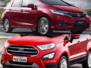 Honda Fit LX ou um Ford EcoSport 1.5 SE automático?