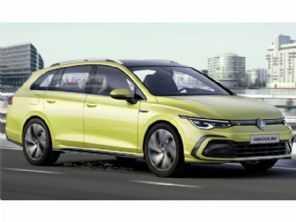 Veja como pode ficar a nova VW Golf Variant