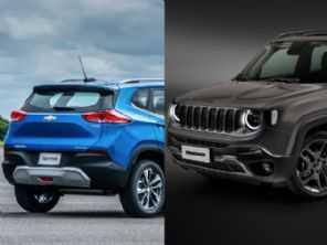 Chevrolet Tracker ou Jeep Renegade: quem vendeu mais em abril?