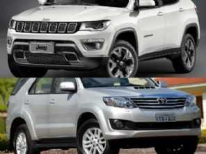 Comprar um Toyota SW4 2012 ou um Compass diesel em promoção para PcD por menos de R$ 100 mil?