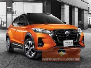 Veja a primeira imagem oficial do novo Nissan Kicks 2021