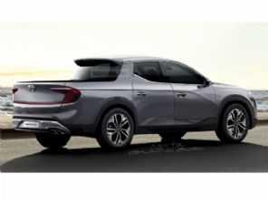 Rival da Toro, picape Hyundai Santa Cruz deve estrear em 2022