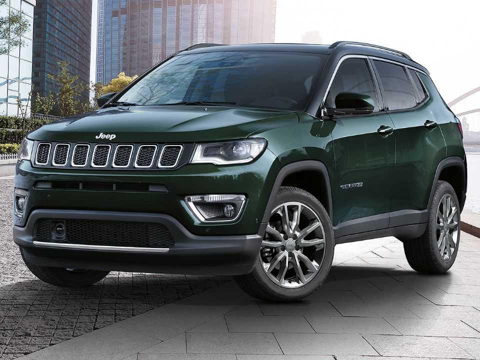 Acima o Jeep Compass Limited 2020 produzido na Europa