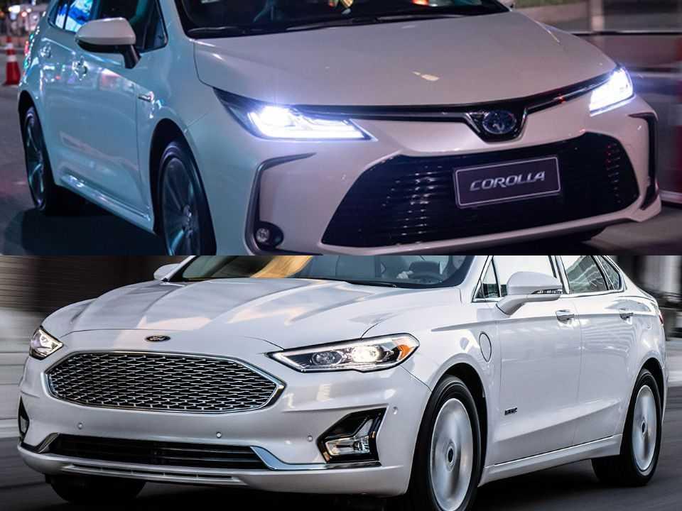 Toyota Corolla e Ford Fusion
