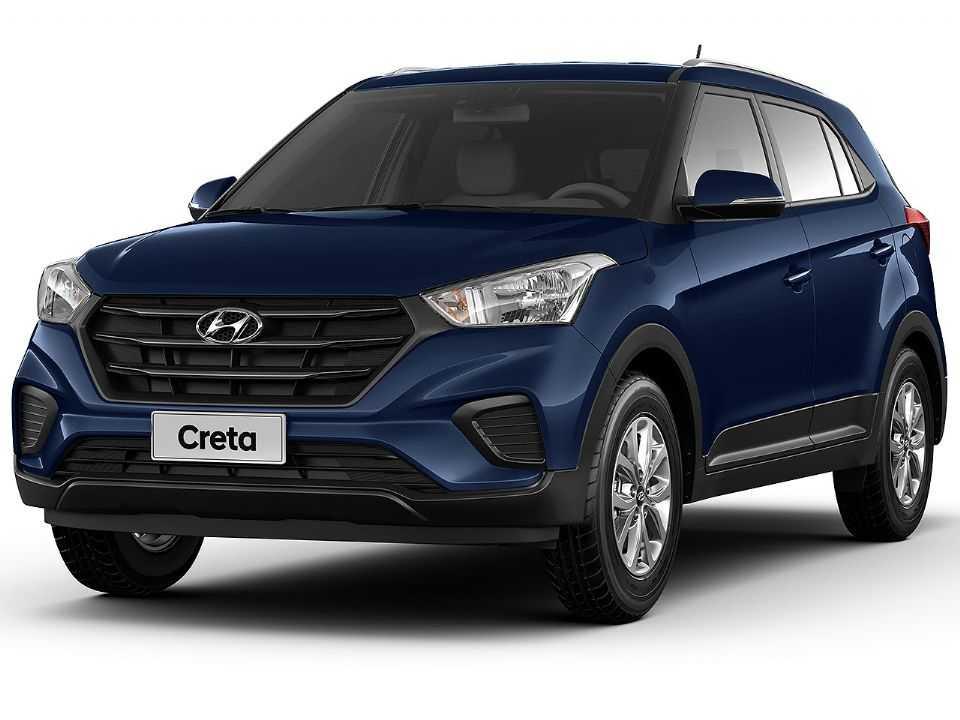 Acima o Hyundai Creta na nova opção Action 1.6 automática