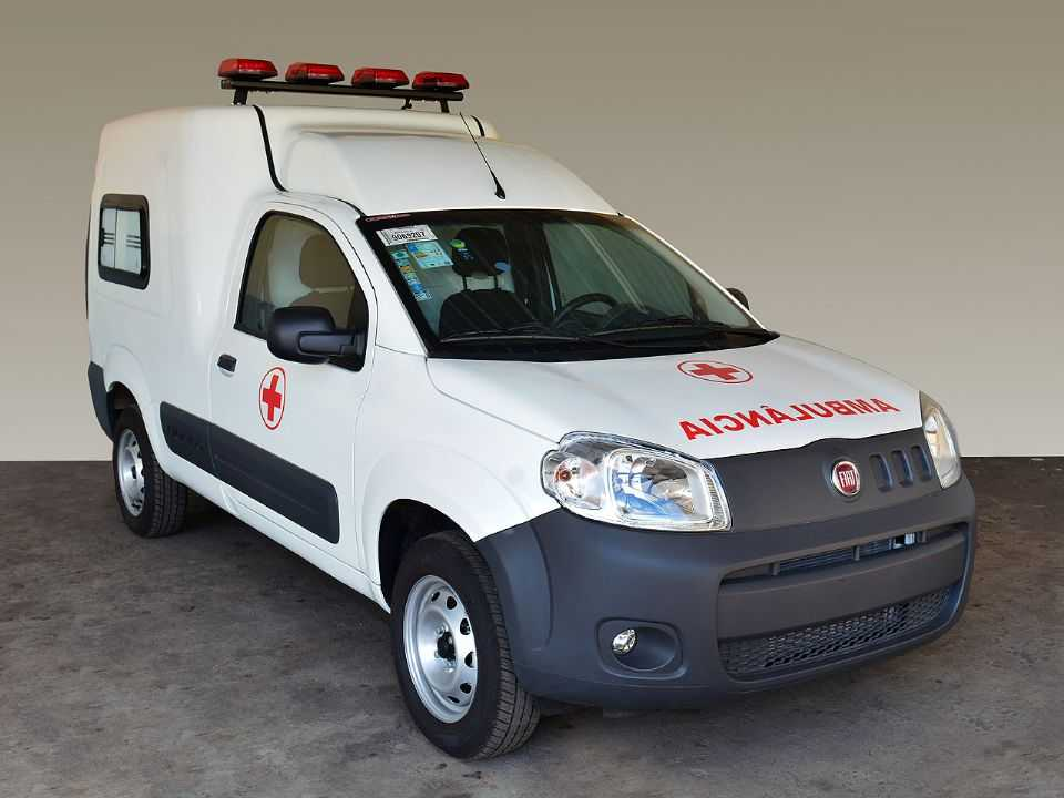 Fiat Fiorino Ambulância