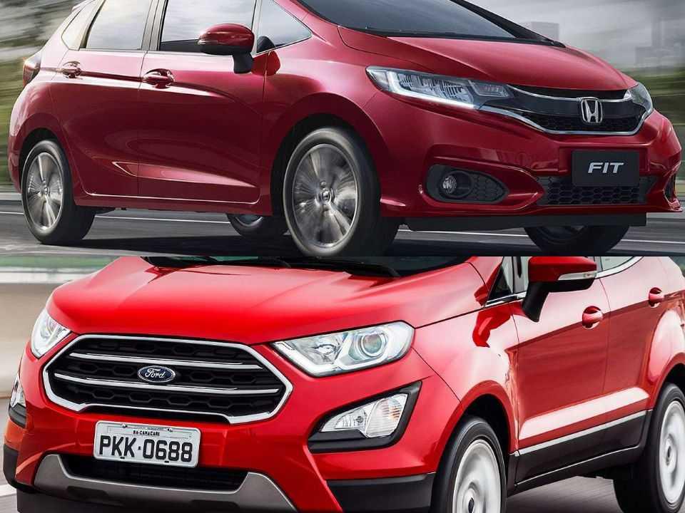 Honda Fit e Ford EcoSport