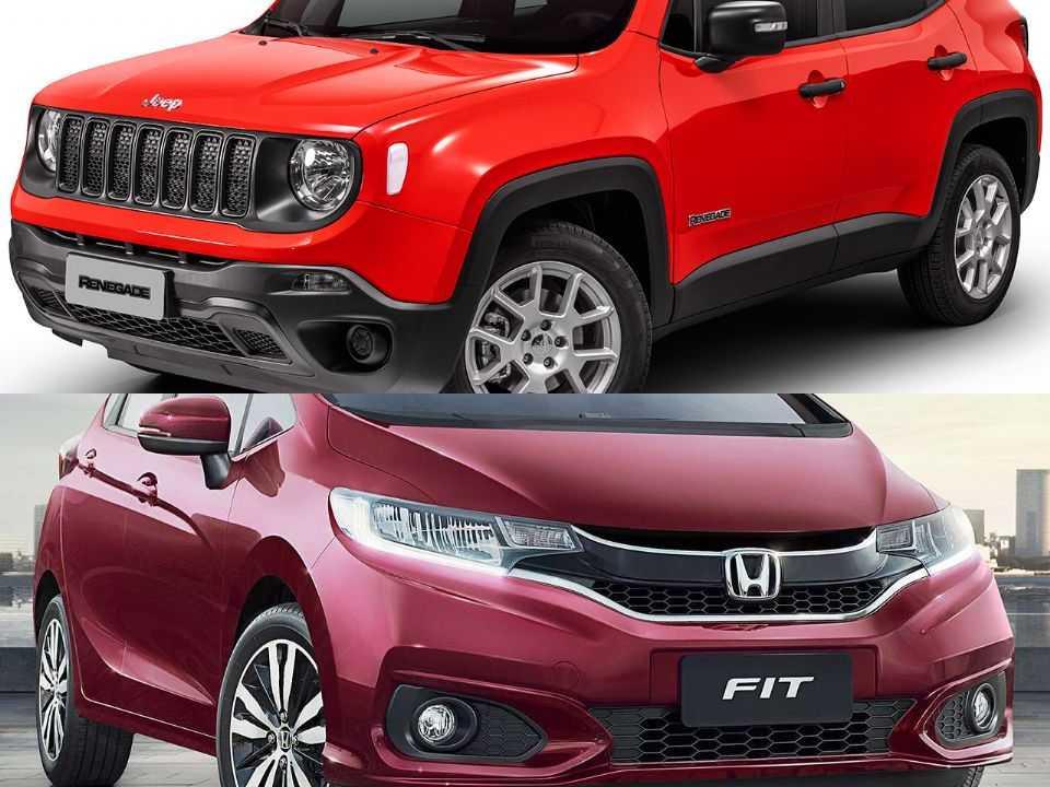 Jeep Renegade e Honda Fit