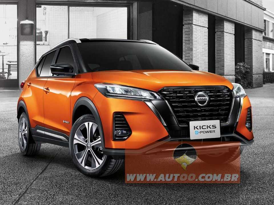 O novo Nissan Kicks 2021: propulsão híbrida e visual retocado