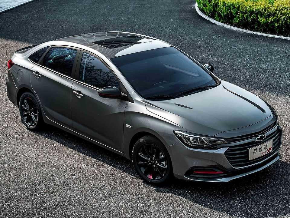 Acima o Chevrolet Monza atualmente vendido na China