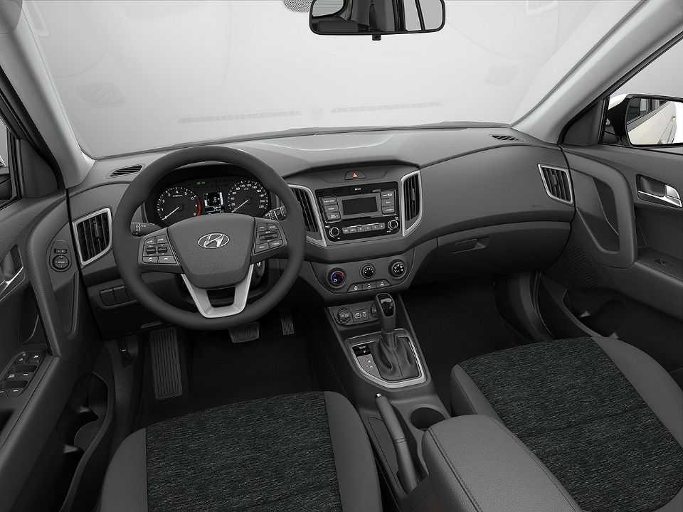 Interior do novo Hyundai Creta Action 2021