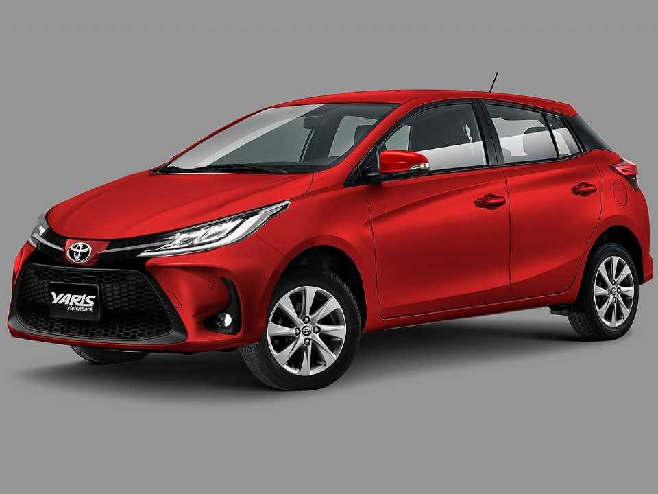 Projeção de Kleber Silva para o facelift que o Toyota Yaris deve estrear no próximo ano