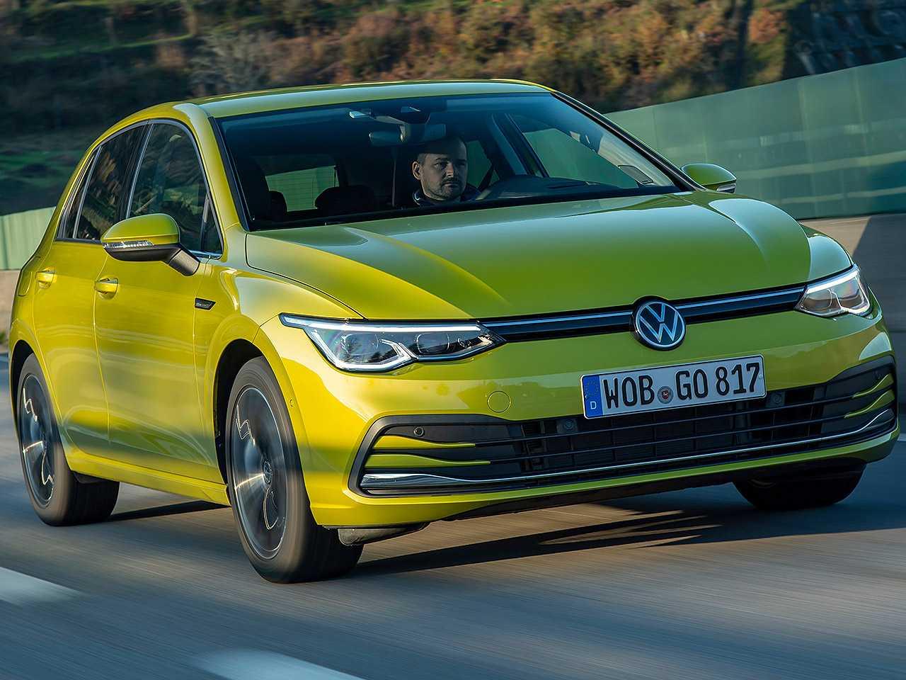 Volkswagen Golf em sua oitava geração vendida na Europa