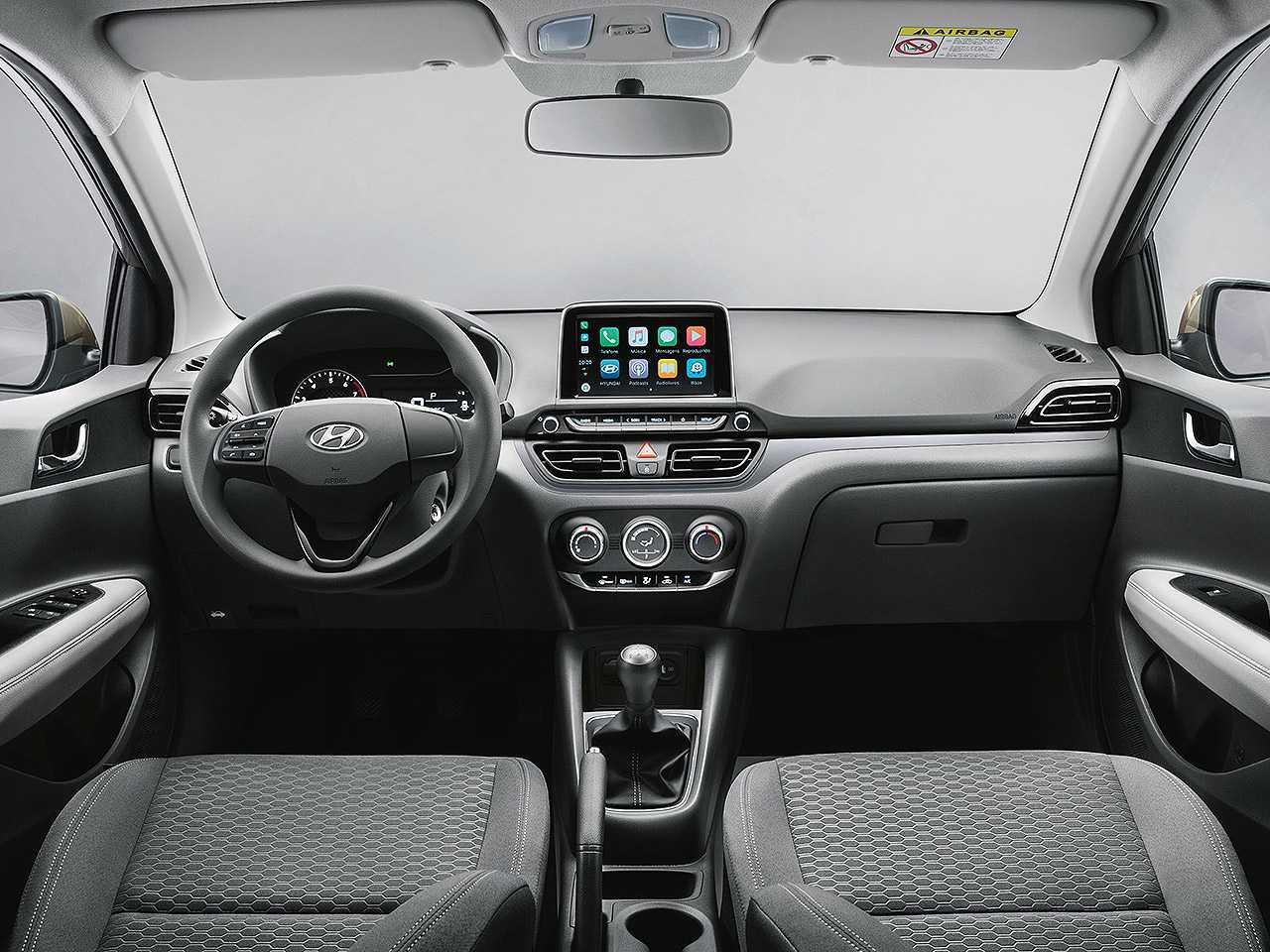 HyundaiHB20S 2021 - painel