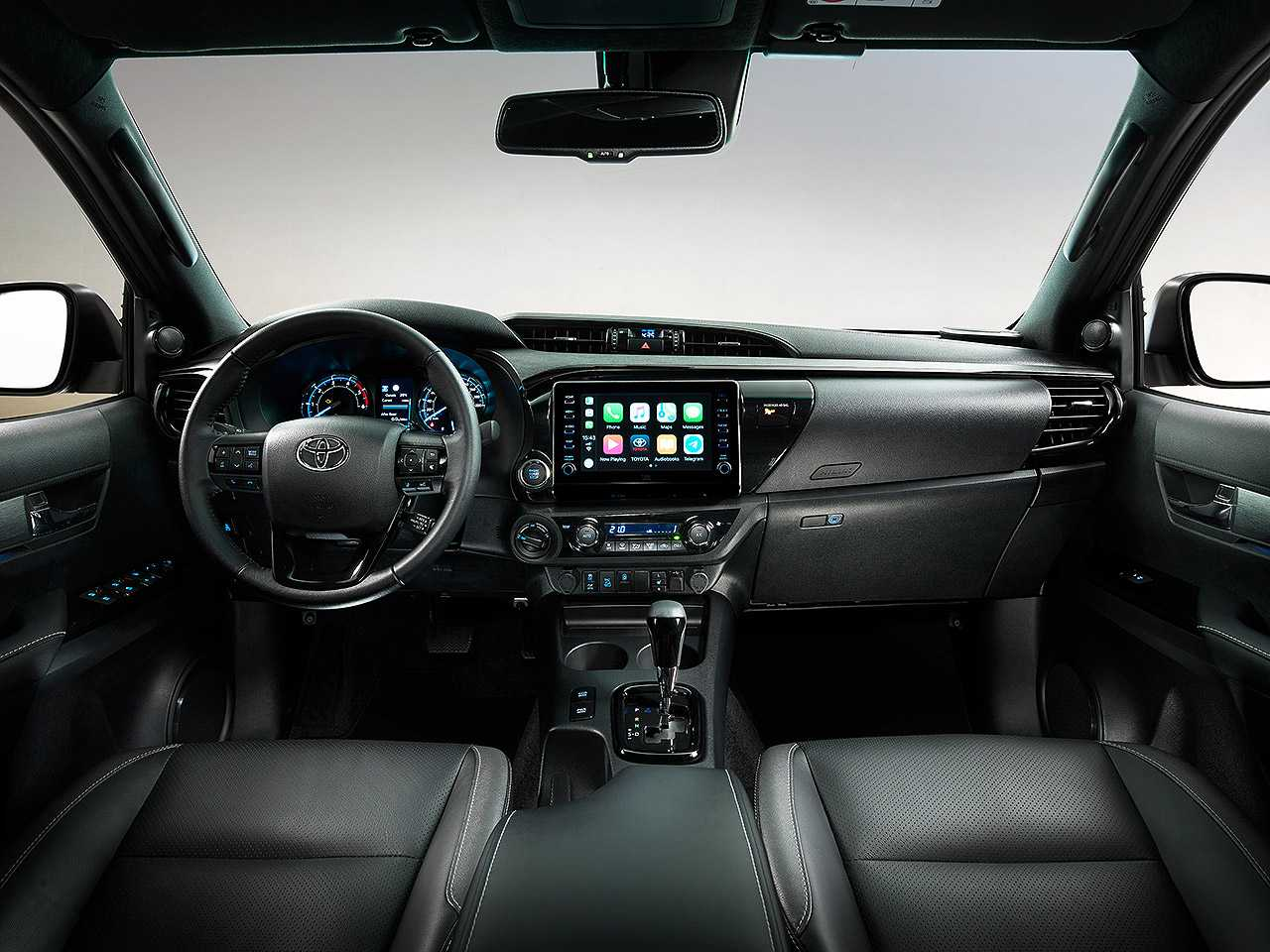 ToyotaHilux 2021 - painel