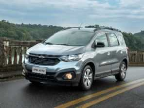 Chevrolet Spin 2021 estreia com os controles de tração e estabilidade