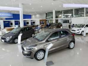Rede de concessionárias Ford deve cair pela metade no Brasil