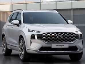 Novo Hyundai Santa Fe 2021 tem primeiras imagens reveladas