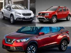 Nissan Kicks S, Peugeot 2008 Allure ou um Renault Duster Dynamique?