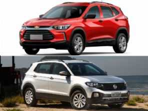 SUVs com câmbio manual: Chevrolet Tracker ou Volkswagen T-Cross?