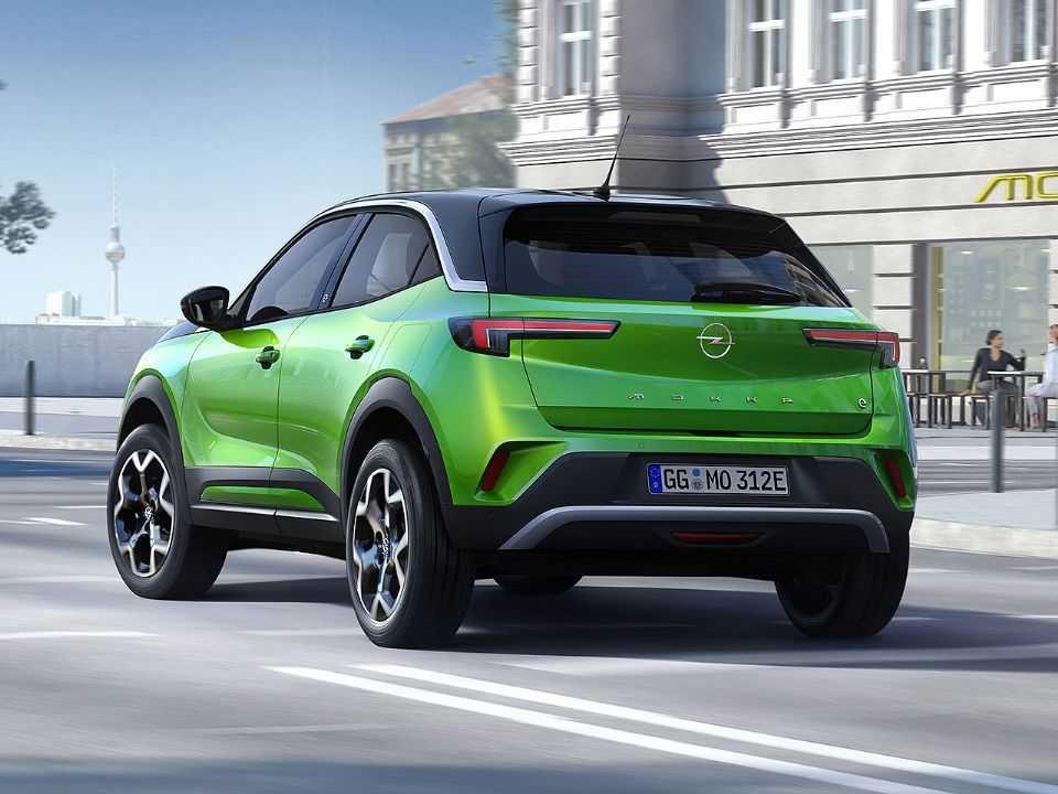Acima a nova geração do Opel Mokka