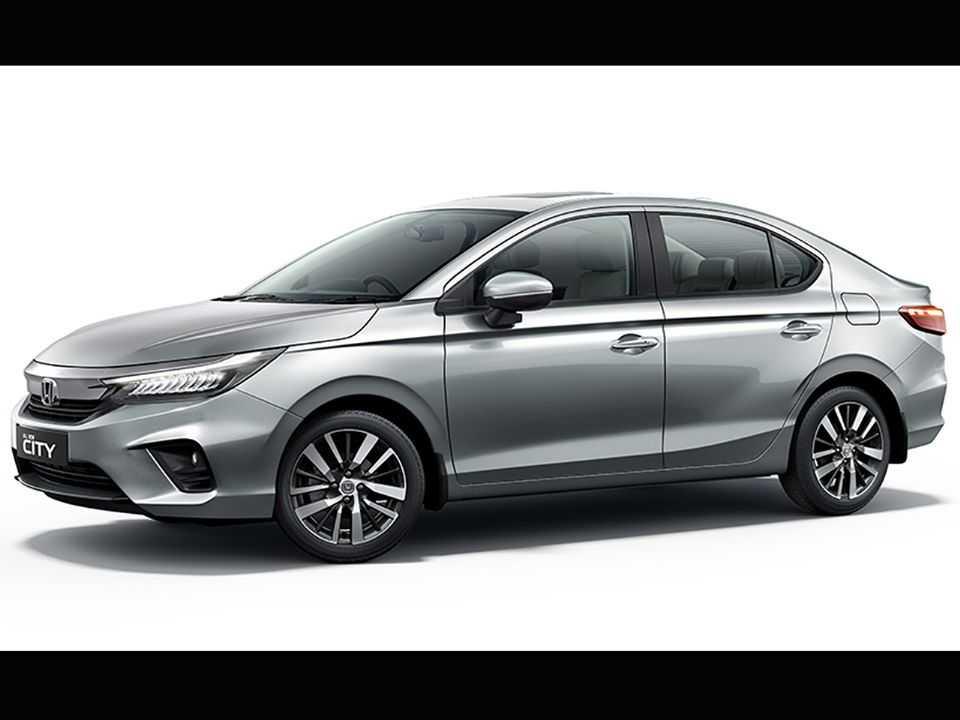 Acima a nova geração do Honda City revelada na Tailândia