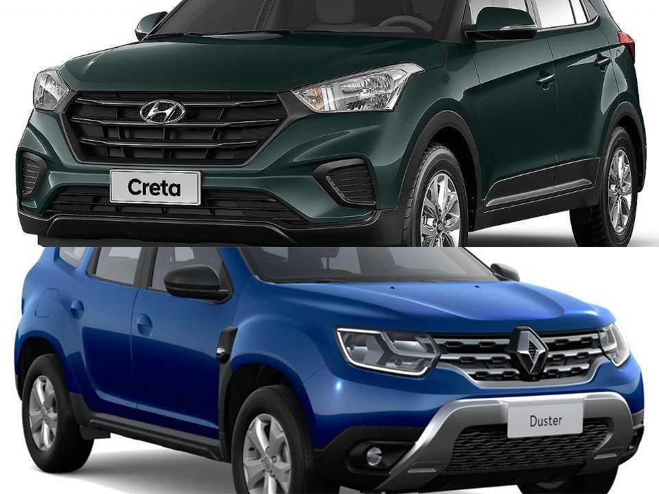 Hyundai Creta e Renault Duster