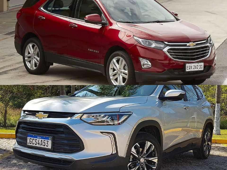 Equinox ou Tracker: dupla da Chevrolet figura na dúvida do leitor