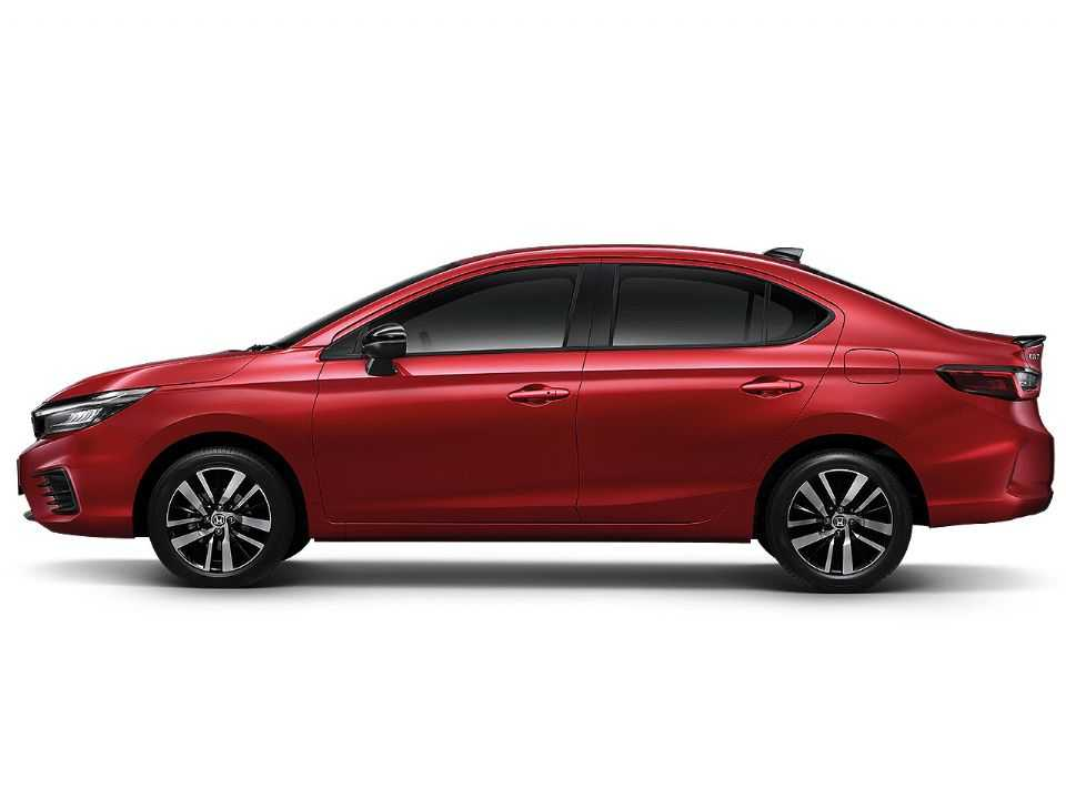 HondaCity 2021 - lateral