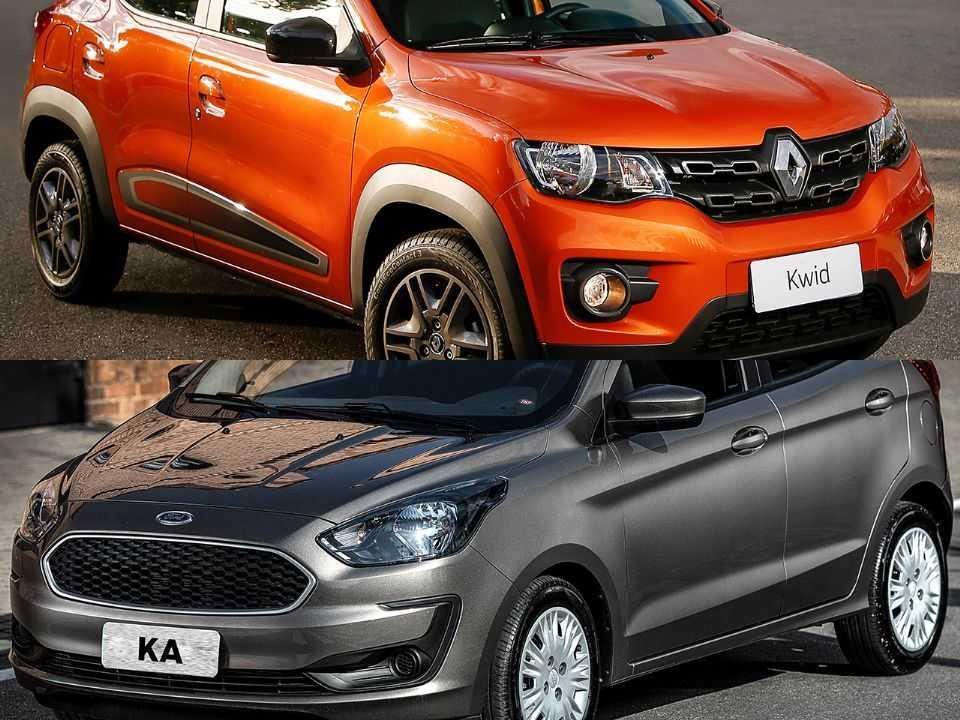 Renault Kwid e Ford Ka
