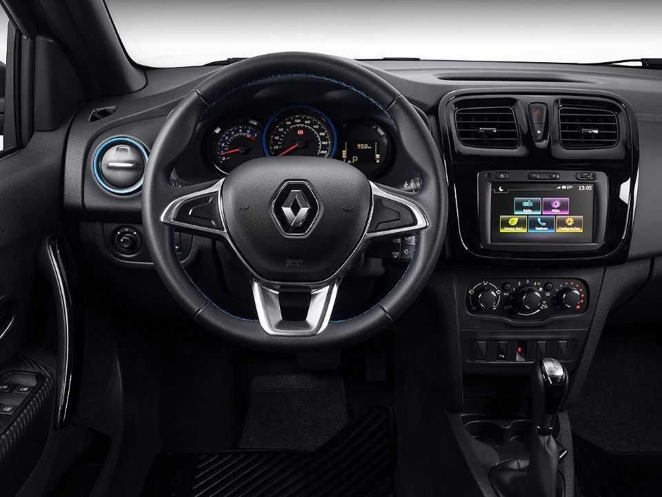 RenaultSandero 2021 - painel