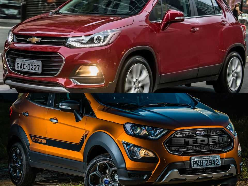 Chevrolet Tracker e Ford EcoSport
