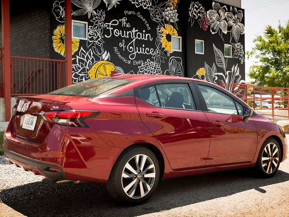 Nova geração do Nissan Versa