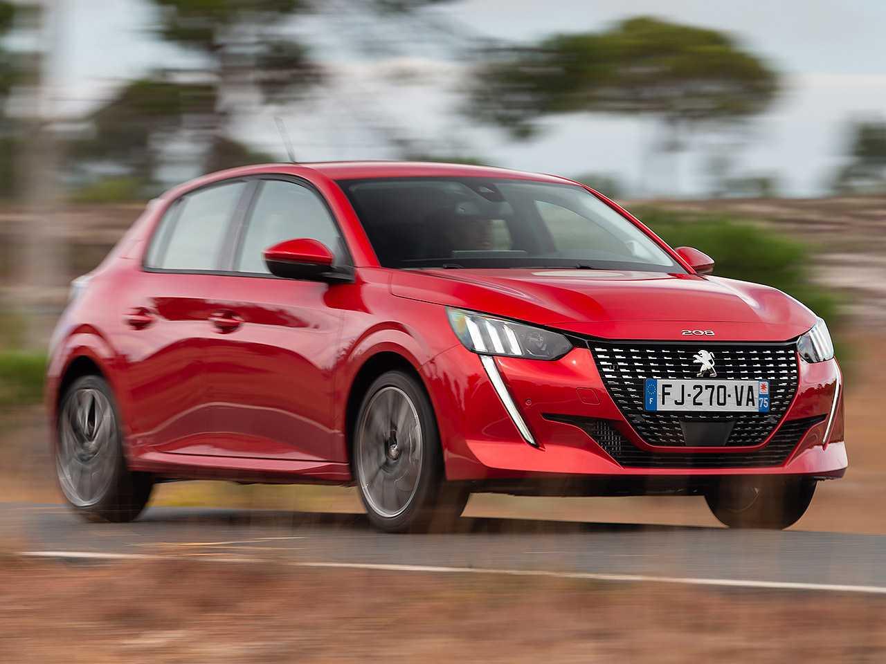 Nova geração do Peugeot 208 vendido na Europa