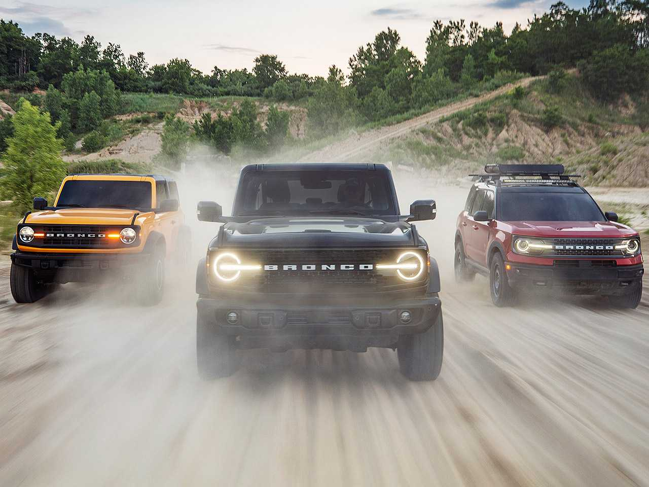 Família Ford Bronco e Bronco Sport 2021
