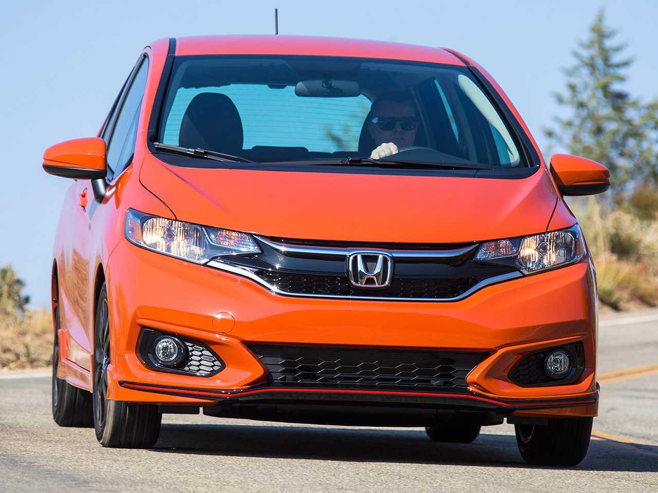 Detalhe do Honda Fit 2020 comercializado nos EUA