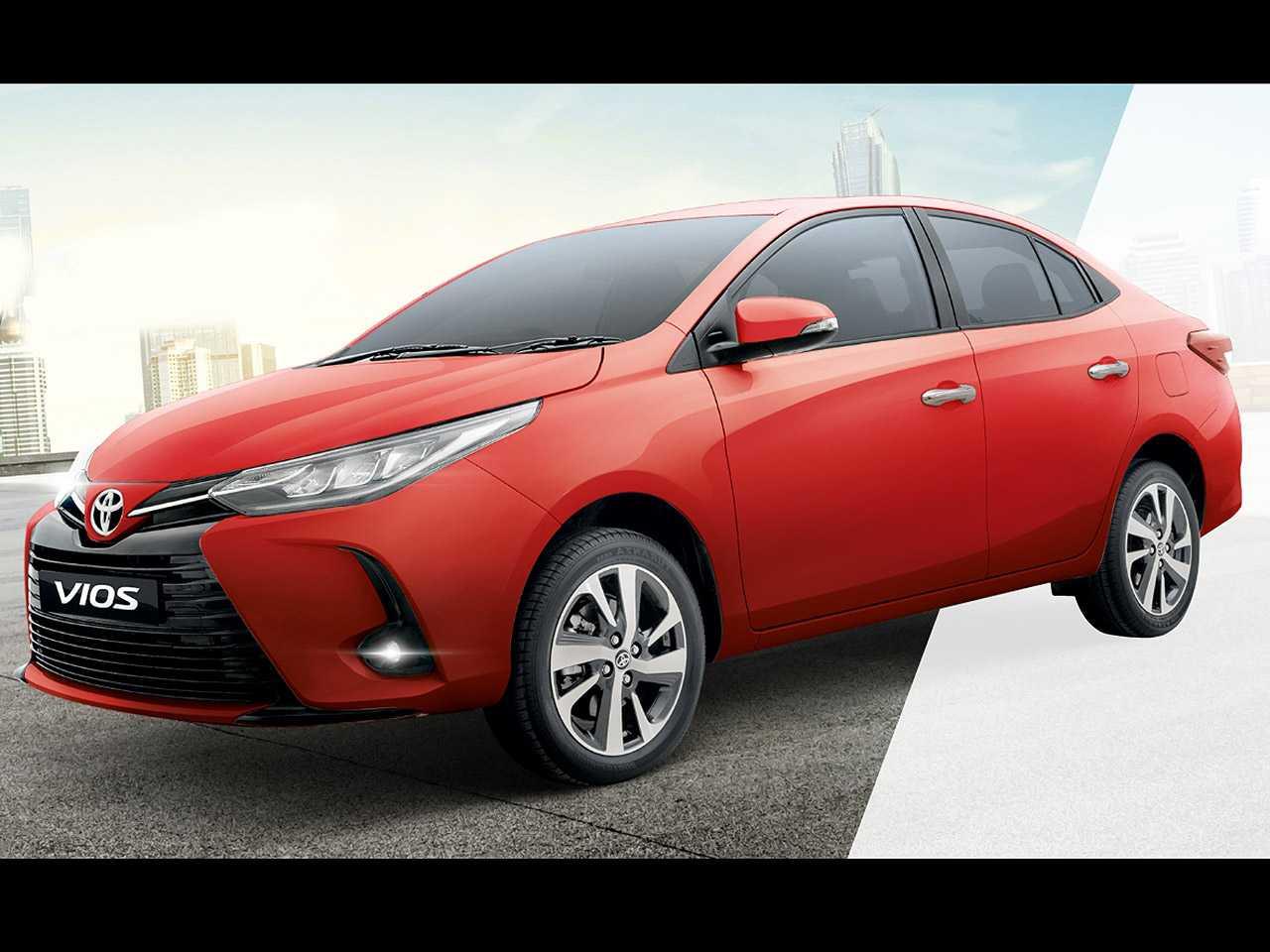 Facelift do Toyota Vios revelado nas Filipinas