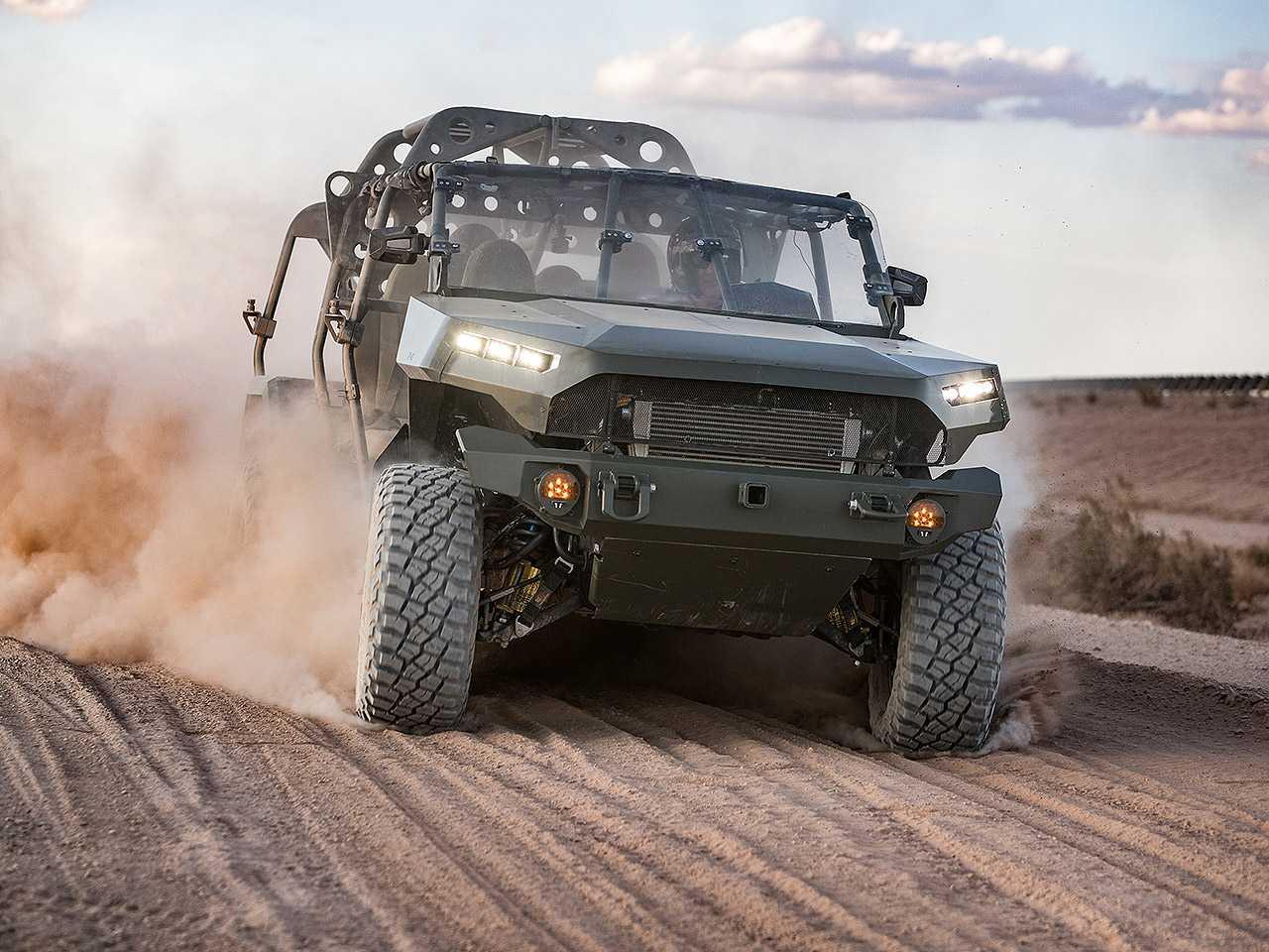 GM Defense ISV, sigla para Infantry Squad Vehicle