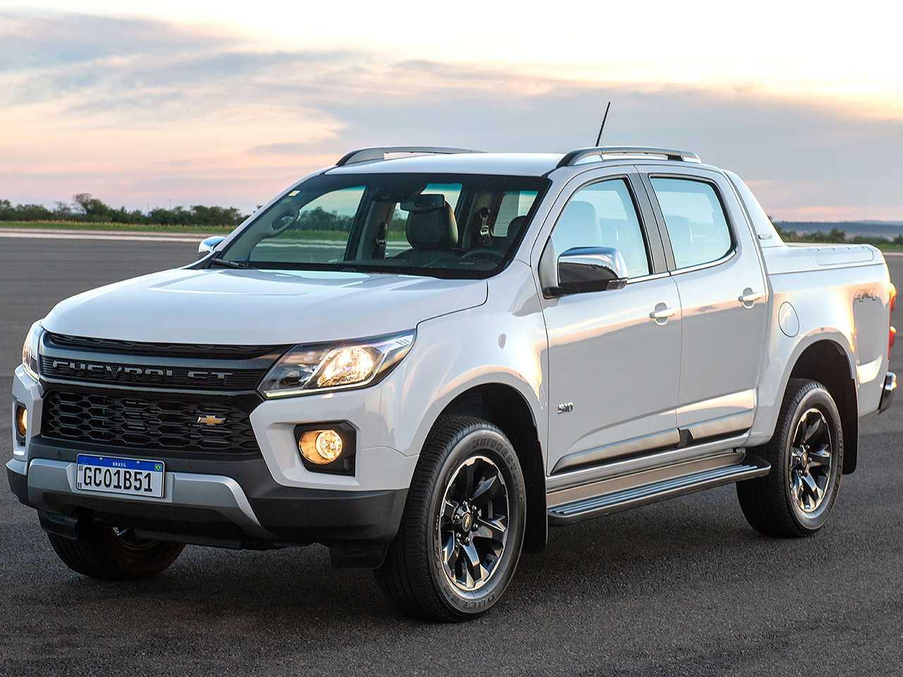 ChevroletS10 2021 - ângulo frontal