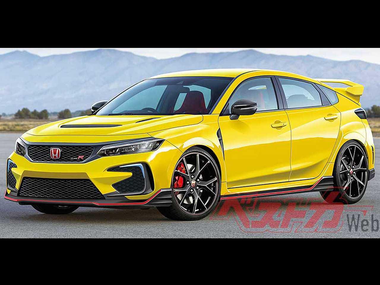 Projeção do Best Car Web para a nova geração do Honda Civic na versão esportiva Type R