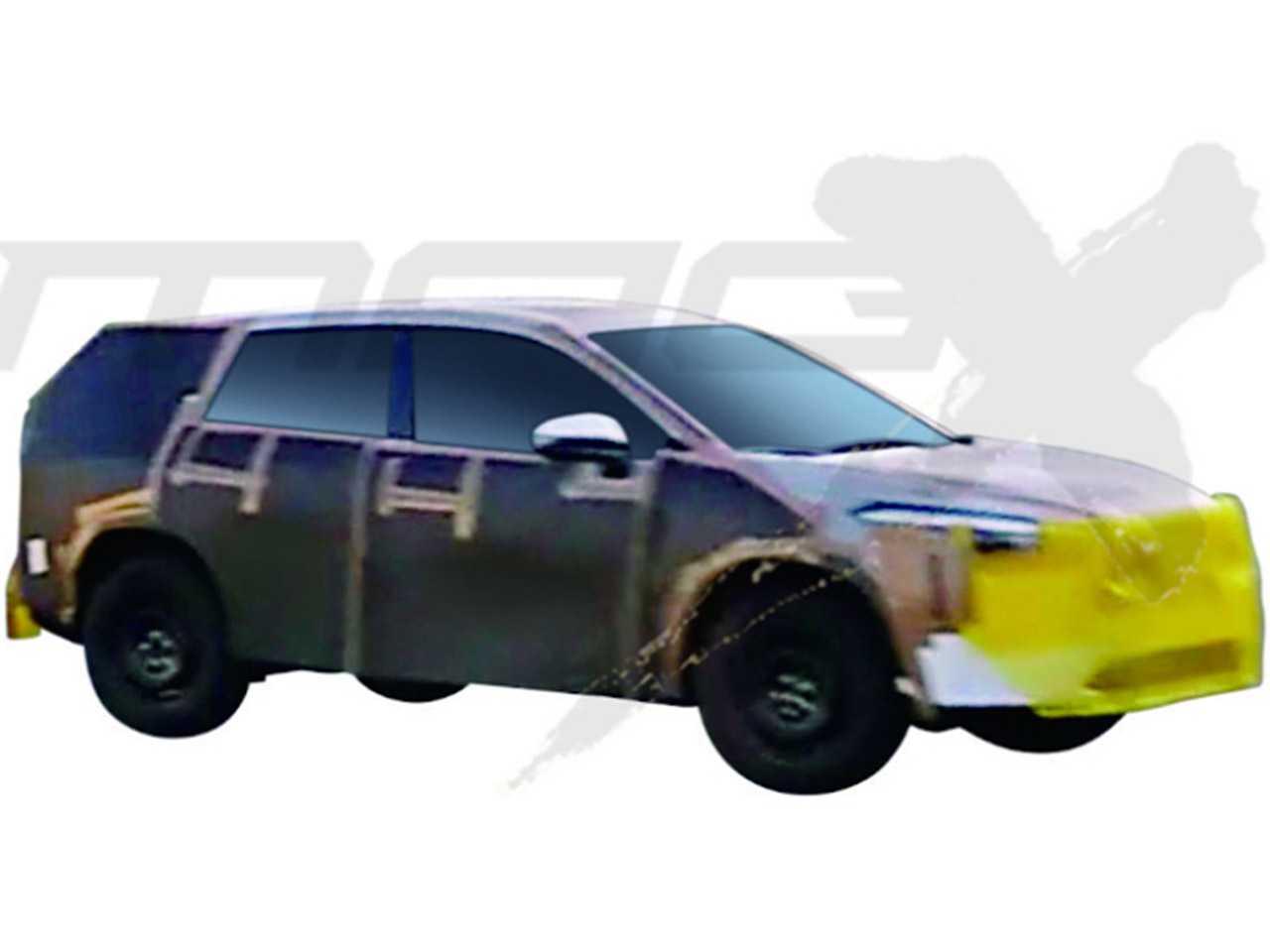 Imagem do inédito SUV derivado do Corolla atual