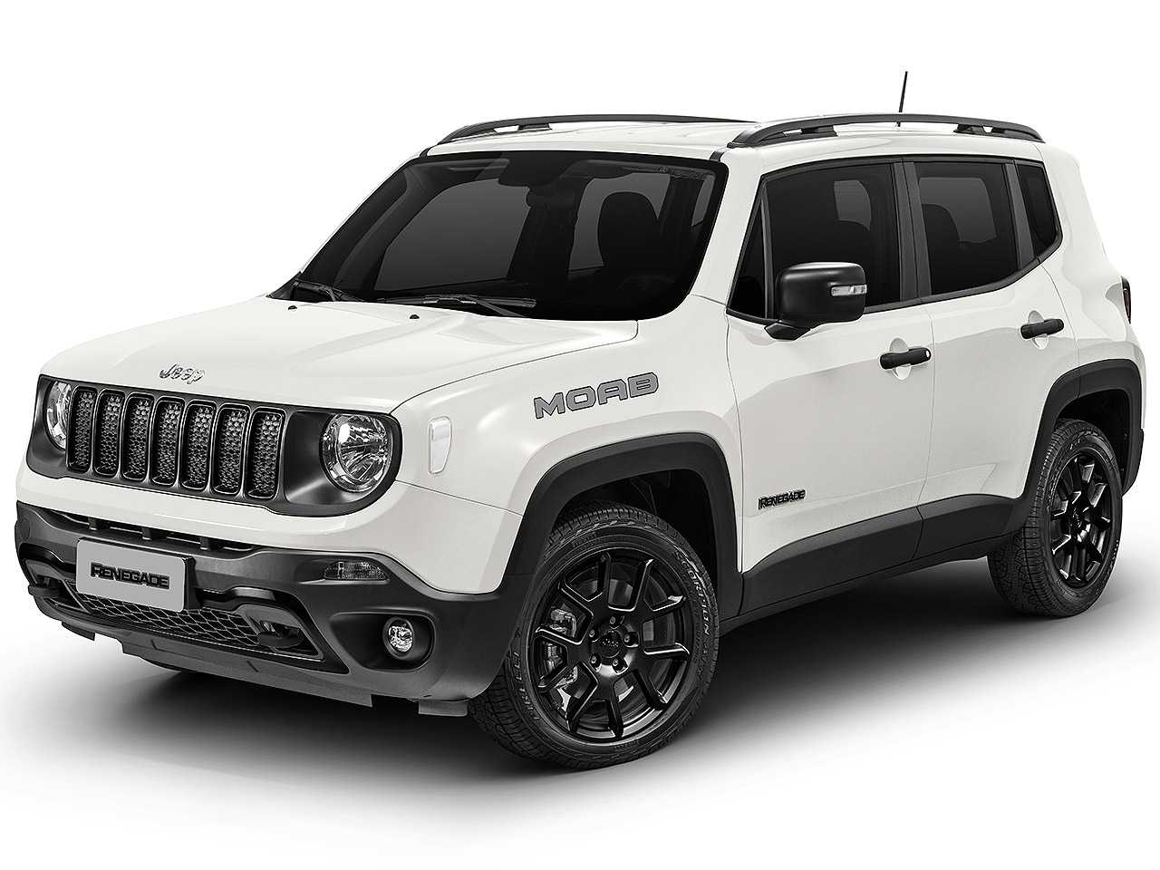 Jeep Renegade 2021 - ângulo frontal