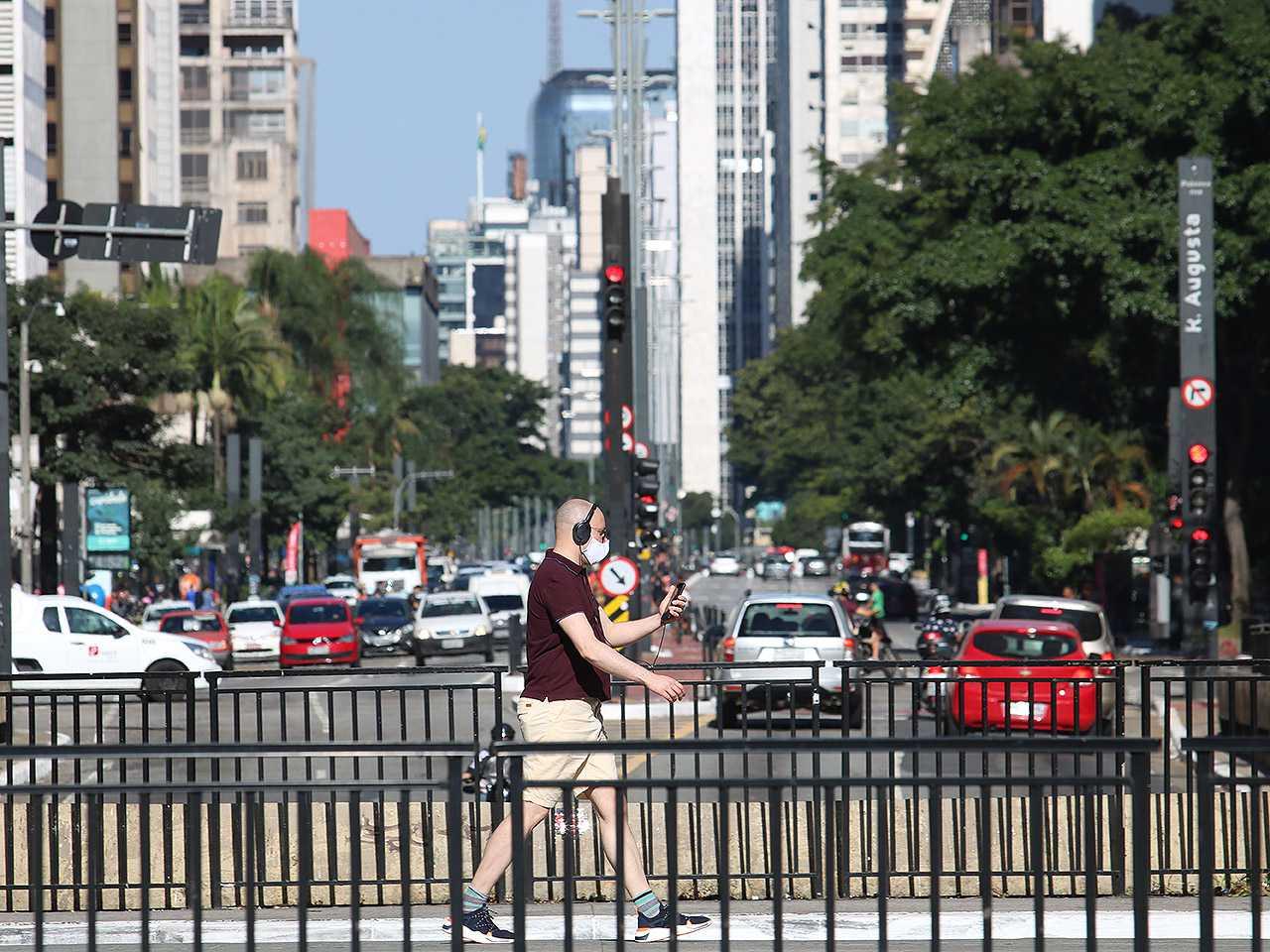 Uso de máscaras em ambientes públicos já é obrigatório no estado de São Paulo desde maio