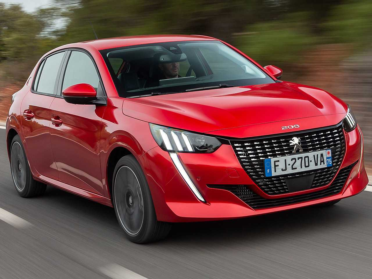 Detalhe do Peugeot 208 vendido na Europa